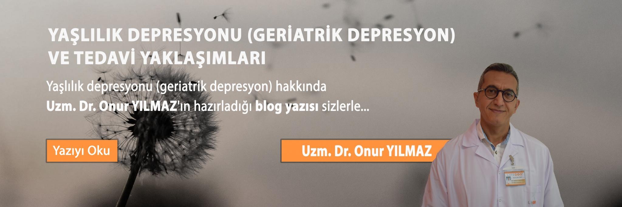 Yaşlılık Depresyonu
