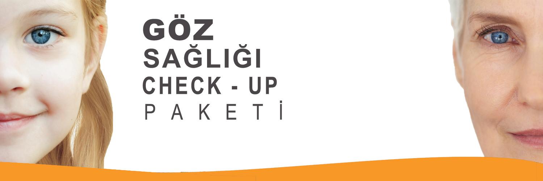 Göz Sağlığı Check Up Paketi